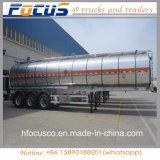 ガソリンまたはガソリンのための軽い半風袋重量のアルミ合金タンクトレーラー