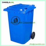 Fonction d'ordures déchets PEHD 360 L Bin pour le nettoyage, Poubelle, Corbeille, fonction poubelle.