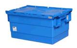 600X400X315mm pp Gemaakte Plastic Doos met Scharnierend Deksel