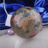 عادة كرة أرضيّة زاويّة زجاجيّة لأنّ عمل هبة