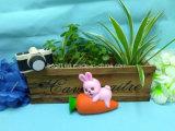 Squishies spielt Häschen-Kaninchen-Karotte-Squishy langsame steigende duftende Spielwaren