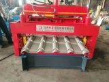 Type populaire roulis du Ghana de tuile de tôle d'acier formant la machine pour la feuille de toiture