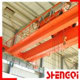 Grúa de puente eléctrica de puente rodante de la viga doble resistente