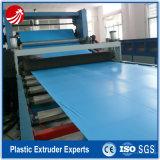 Maquinaria plástica de la protuberancia de la hoja de la película del PVC que hace la máquina
