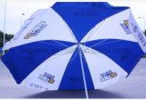 Parapluie de plage de la publicité extérieure de mode, parapluie de cadeau de promotion