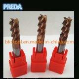 Preda Carbide Tools Fresadora de 4 láminas para acero inoxidable