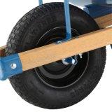 Pega de madeira Suqare Profelssional Wheelbarrow 6 pés