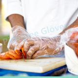 Qualitäts-geben Wegwerfvinylhandschuhe mit Puder oder Puder frei