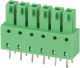 Puggable / Plug-in Terminal Block com cabeçotes de linha de linha dupla (WJ15EDGB-3.81)