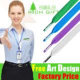 Drucken-grünes beige Nylon gedruckte Abzuglinie mit Metallhaken-Baumwolle