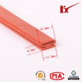 Bande colorée de joint en caoutchouc de silicones de température élevée pour la porte de four