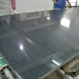 Pierre moderne noire de quartz pour l'île de cuisine