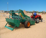 La machine de compensation remorquée par entraîneur de sable de plage propre Trashes