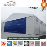 Estrutura de alumínio Hangar tenda com painel sanduíche