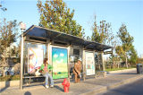 Station (HS-BS-E030)를 위한 스테인리스 Steel Bus Shelter