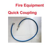 Connecteur rapide de boyau flexible de couplage de pipe de matériel de canon de protection contre les incendies