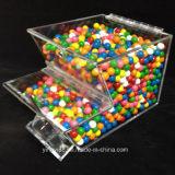 Perso 8 large empilable distributeur de bonbons en acrylique