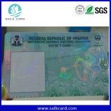 Registo dos eleitores do leitor de Smart Card