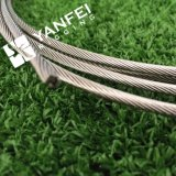 7X7/гальванизированное 6X36/веревочка провода нержавеющей стали