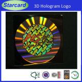 Cartão de plástico de alta segurança com impressão de Anti-Contrafacção)