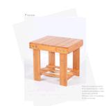 Mini chaise enfant Chaise en bambou Chaise en bois