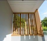 WPCの固体装飾的な木ずりの木製のプラスチック合成物