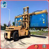 Verwendeter Dieselgabelstapler Behälter-Reichweite-Ablagefach-KOMATSU-Fd280 (28ton/lift-capacity)