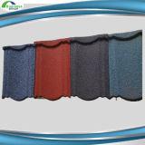Teja de techo de Ridge Cap 1340 * 420 mm de acero del azulejo de azotea Precio por azulejo