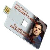 Lecteur Flash USB de carte Visa Logo personnalisé