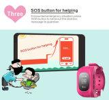 Niños GPS que siguen el reloj elegante de Bluetooth SOS del monitor