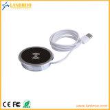 RoHS에 의하여 증명서를 주는 Lanbroo 중국 공장 최신 공급을%s 가진 셀룰라 전화 무선 충전기
