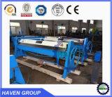 Máquina manual del freno de la prensa del metal de hoja, metal de hoja manual