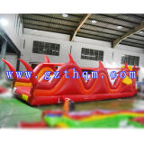Géant gonflable d'amorçage militaire interactif Obstacle Location Cours Adultes