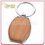 安く分類されたデザインEngravableに木のキーホルダーを与えなさい