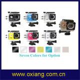 Câmera do esporte da câmera da ação de HD 1080P WiFi com caso impermeável de 30m