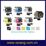 HD 1080P WiFi Vorgangs-Kamera-Sport-Kamera mit 30m dem wasserdichten Fall