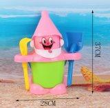 Giocattoli di plastica divertenti della spiaggia della sabbia impostati per i capretti