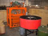 Máquina de fatura de tijolo de pedra de pouco peso pequena da poeira de Zcjk Qtj4-40