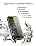 "5.0 ""HD 1280 * 720 Dual SIM dual Standby teléfono 4G 2g + 16g de núcleo cuádruple tres Anti-Cell Teléfono Smart Phone"