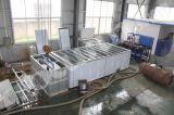 Máquina de gelo do bloco usando o sistema de salmoura