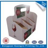 Лидирующая коробка коробки индикации стекла вина упаковывая