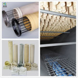 Filtre à poussière de chaudières industrielles de foresterie des sacs de polyester, de l'aramide PTFE en acrylique