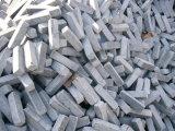 胆ばんの青い石灰岩か黒い石灰岩のペーバー