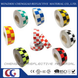 熱い販売のマルチカラーチェック模様の警告の反射安全テープ(C3500-G)