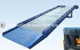 10 Helling van de Lading van de Container van de Vorkheftruck van de ton de Op zwaar werk berekende Regelbare Hydraulische Mobiele