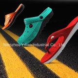 EVA couleur double formation de mousse de chaussures et de Slipper Making Machine