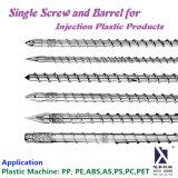 Un tornillo y el cuerpo Productos de plástico por inyección