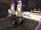 Маршрутизатор CNC Woodworking Ce двойной головной с осью вращения