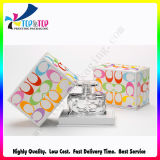 Logotipo de alta qualidade Estampagem Perfume coloridos Fabricante Caixa de papel