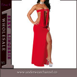 Sexy Women Nightwear Evening Lingerie Long Gown (TBLS763)